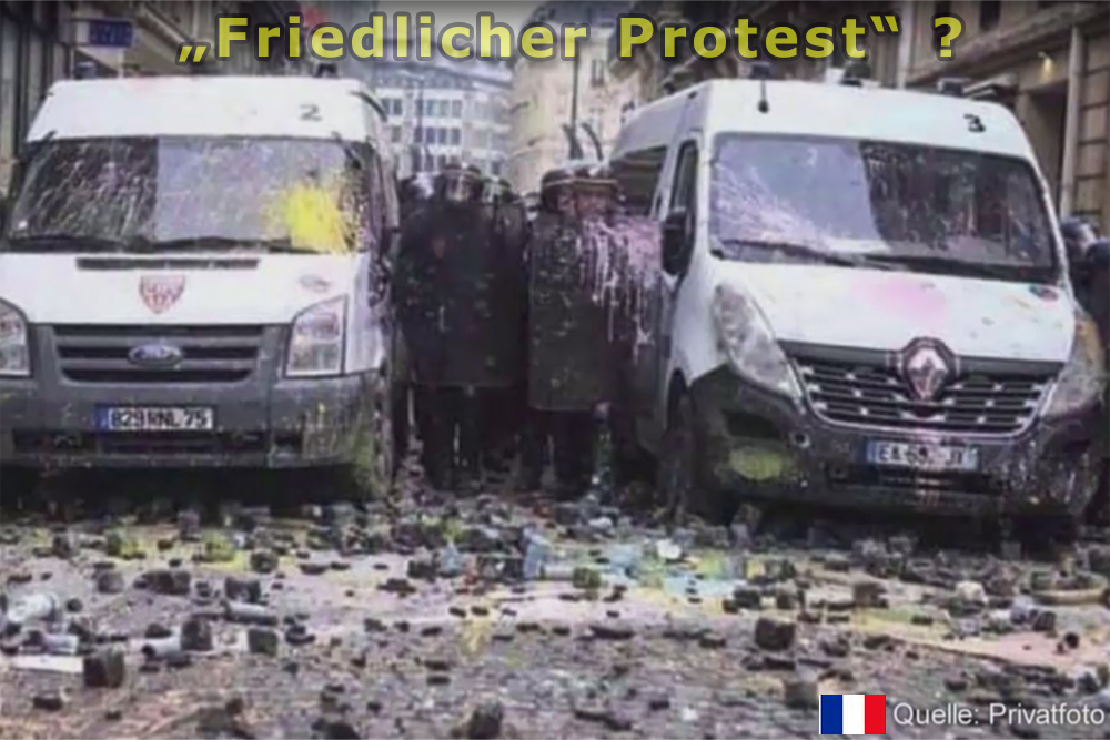 Protest Frankreich